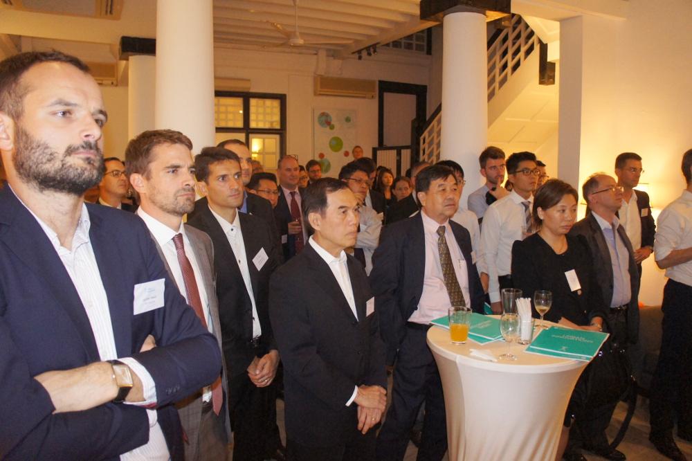Lancement de urban innovations la france singapour for Chambre de commerce francaise singapour