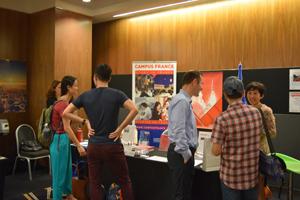 Campus france singapour la foire study in europe 2015 for Chambre de commerce francaise singapour