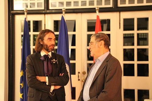 Serge haroche prix nobel de physique 2012 et c dric for Chambre de commerce francaise singapore