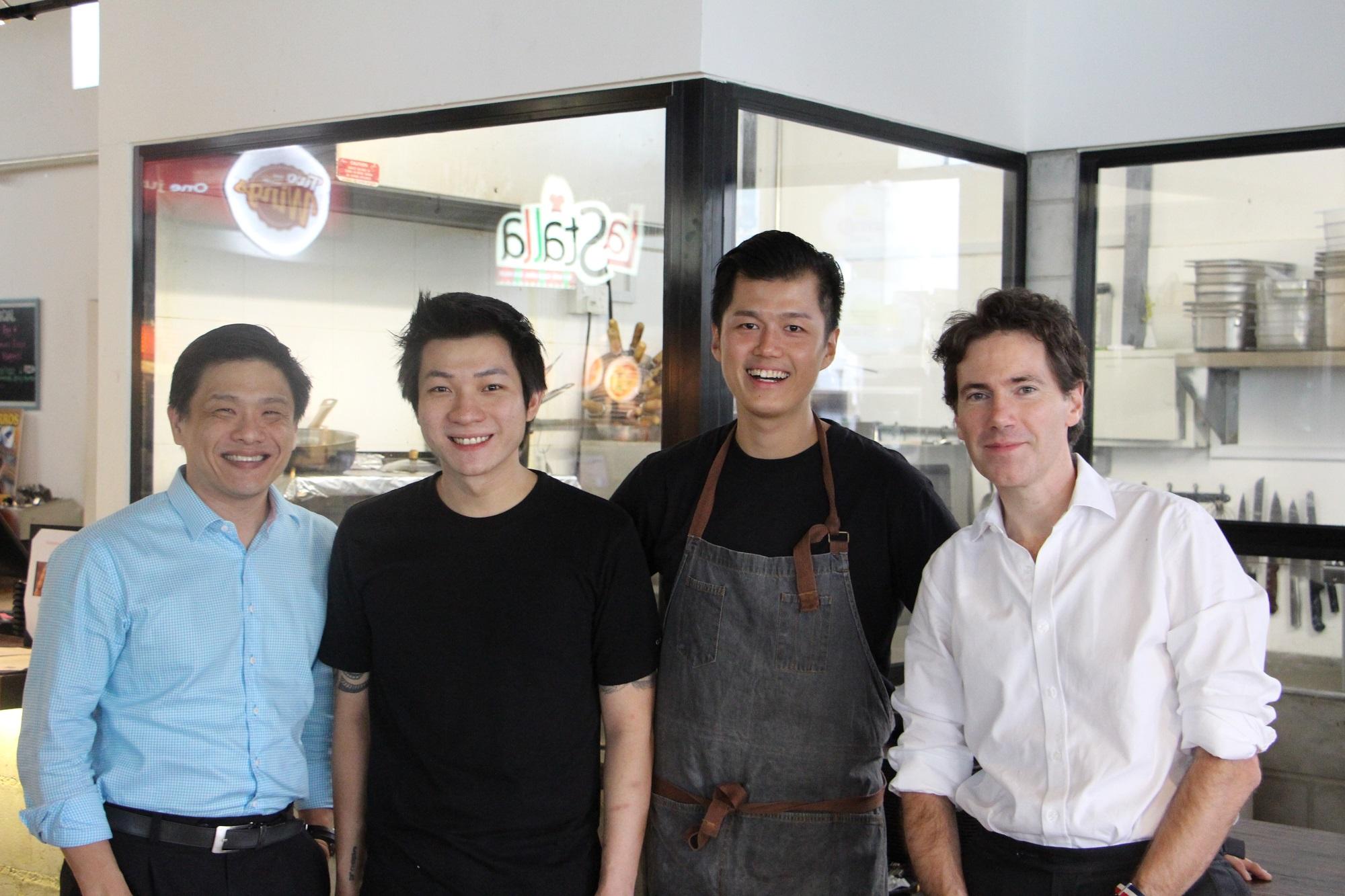 D jeuner fran ais dans un food court avec le blogueur for Chambre de commerce francaise singapour