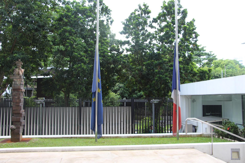 T moignages de soutien suite l attentat nice la for Chambre de commerce francaise singapore