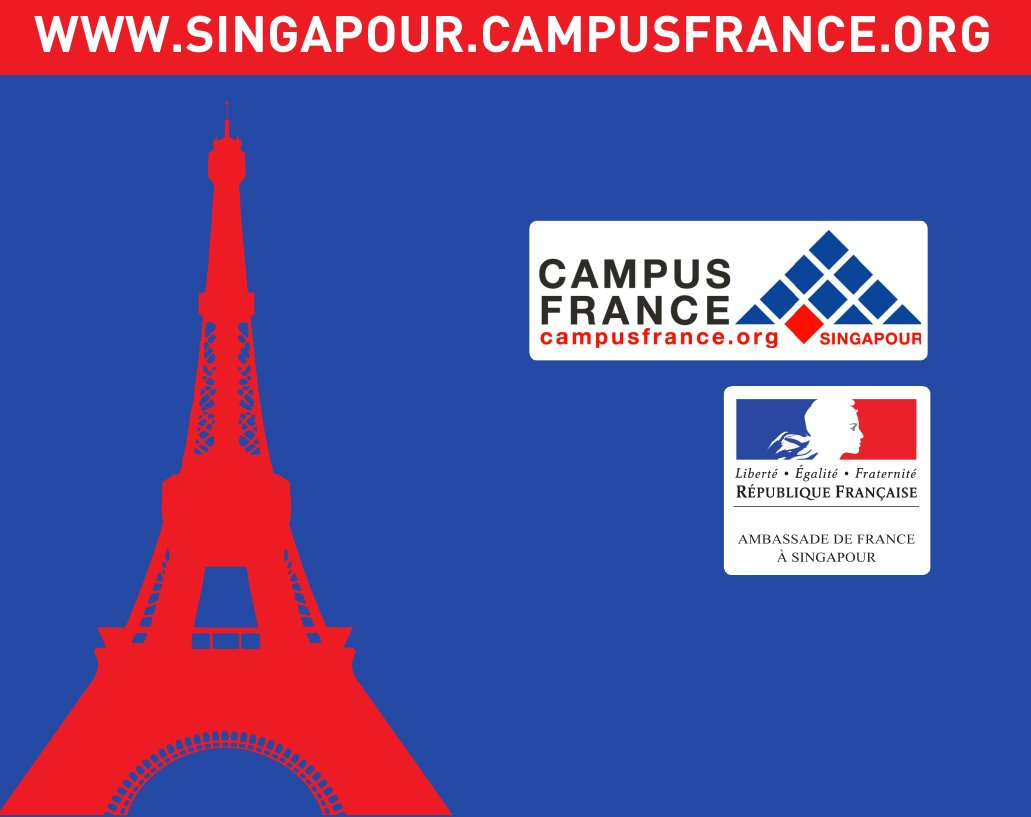 Campus france conf rence informative pour les tudiants for Chambre de commerce francaise singapour