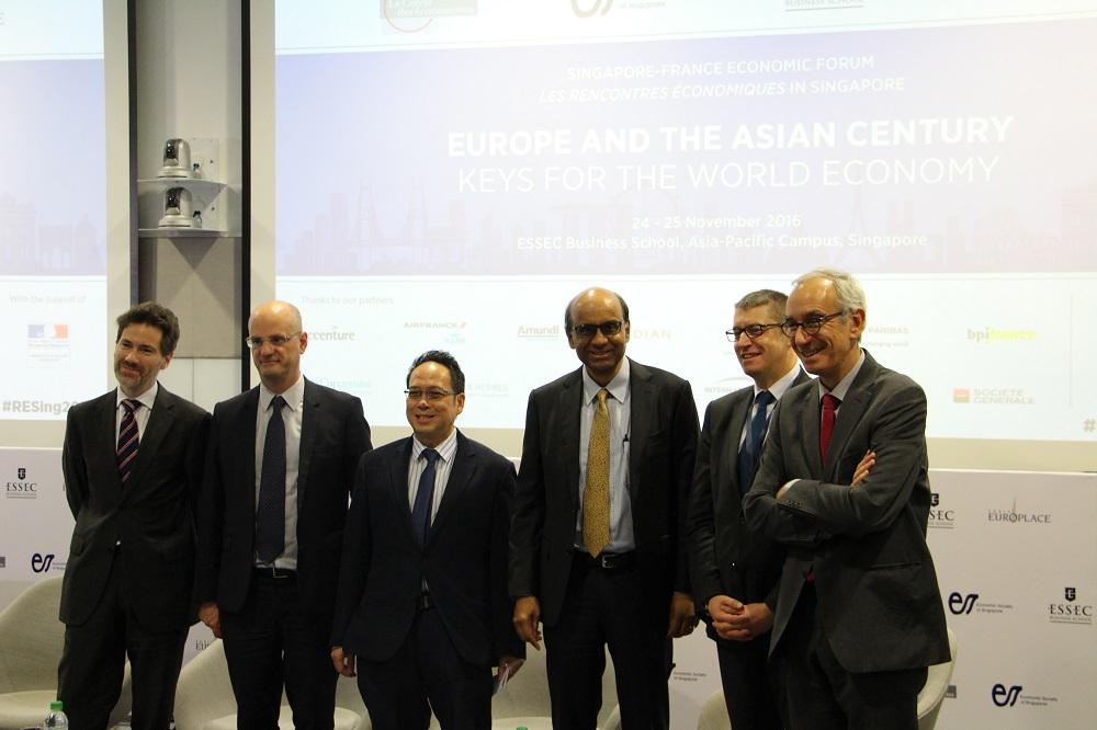 First edition of the Singapore-France Economic Forum - La