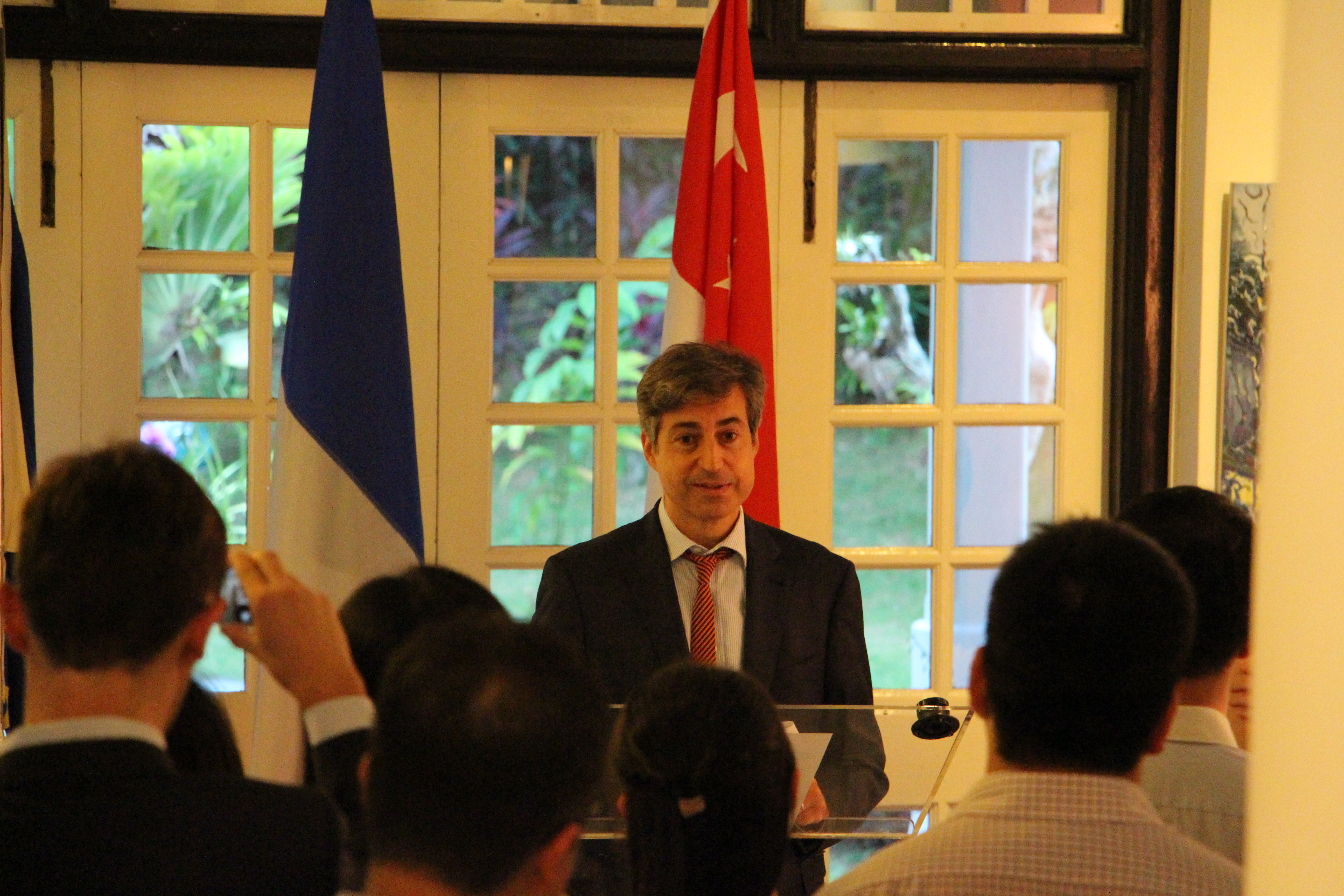 France Engineering Alumni Cocktail at the French Residence