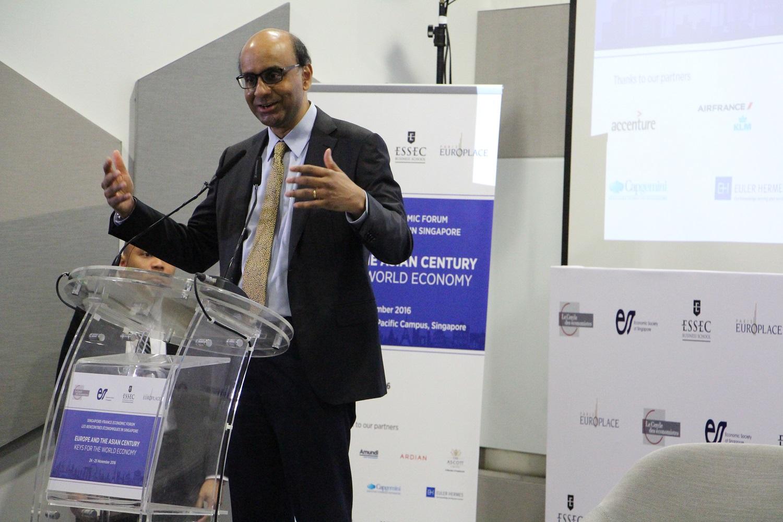 First edition of the Singapore-France Economic Forum - La France à