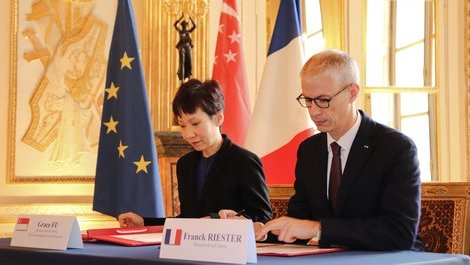 France and Singapore renew cultural cooperation agreement