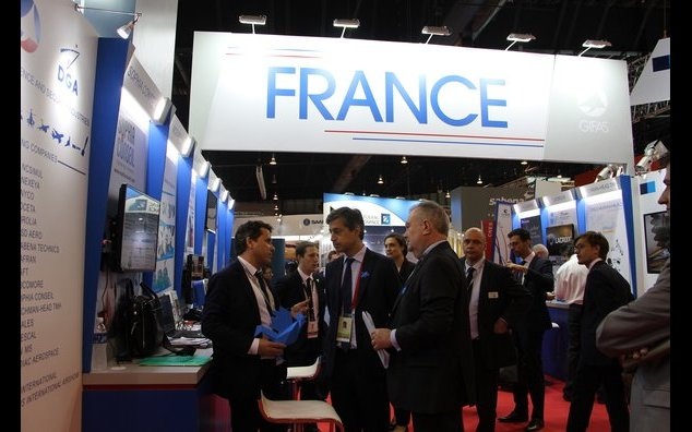 French Ambassador meeting with French companies members of the GIFAS during the Singapore Airshow