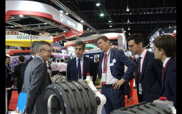 French Ambassador meeting with Safran during the Singapore Airshow