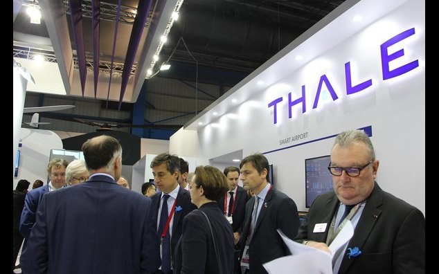 French Ambassador meeting with Thales during the Singapore Airshow