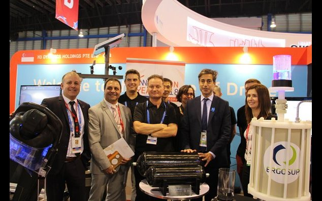 French Ambassador meeting with H3 Dynamics during the Singapore Airshow