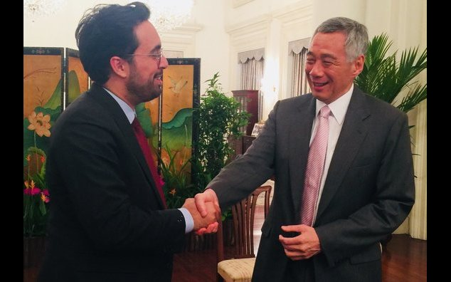 Minister Mounir Mahjoubi called on Prime Minister Lee Hsien Loong