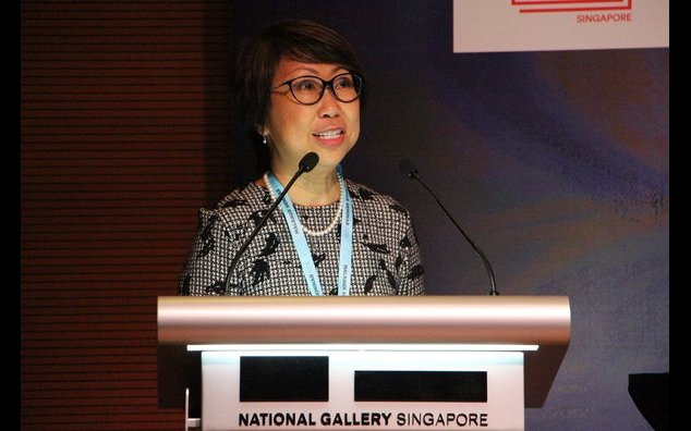 National Gallery Singapore CEO Chong Siak Ching speaking at the Malraux Seminar