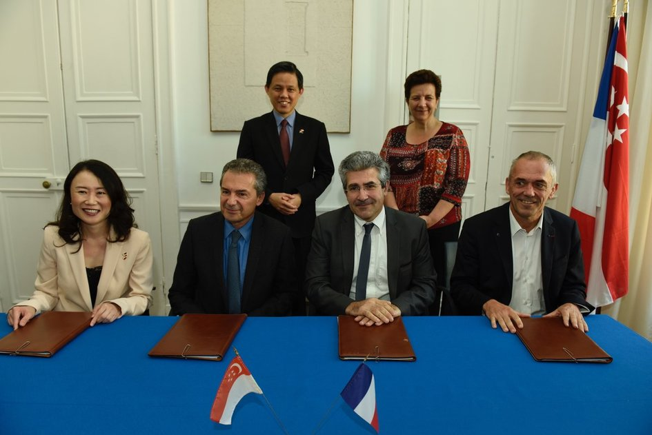 France And Singapore Deepen Innovation And Research Cooperation La
