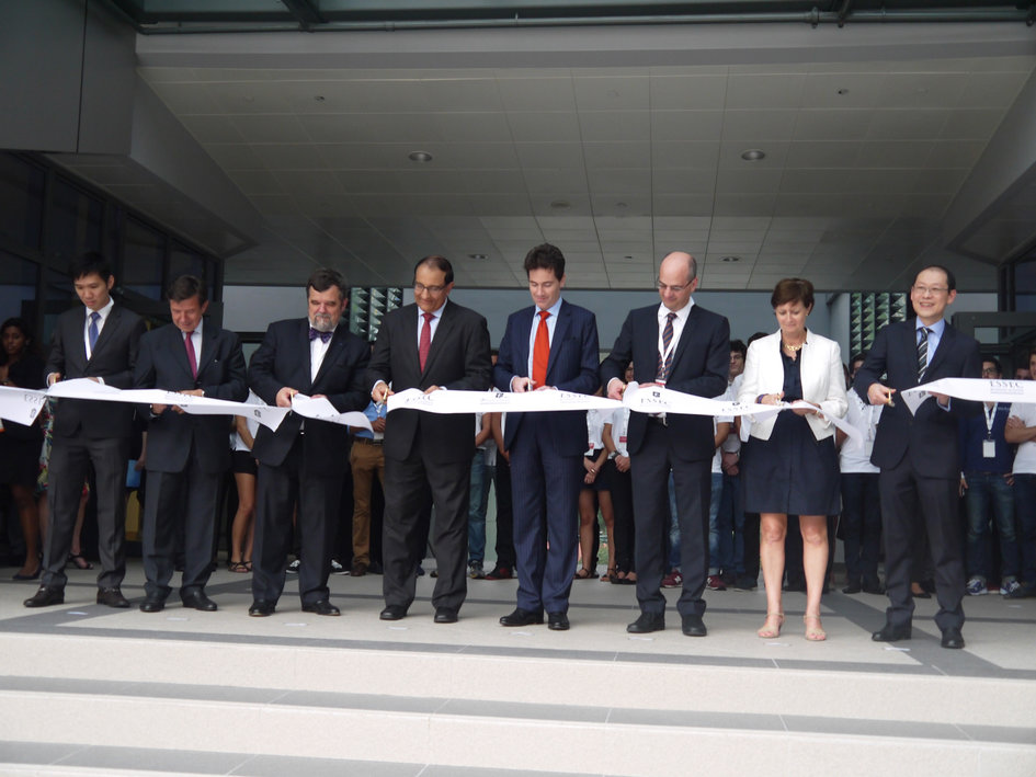 Opening of the new ESSEC campus in Singapore - La France à